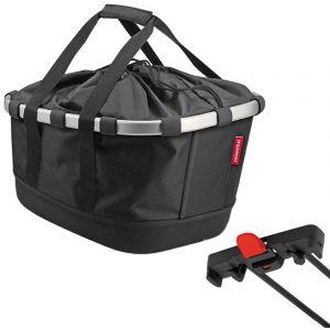 Klickfix Panier de porte bagage racktime bikebasket gt noir