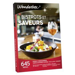 Wonderbox Bistrots et saveurs - Coffret cadeau 645 repas
