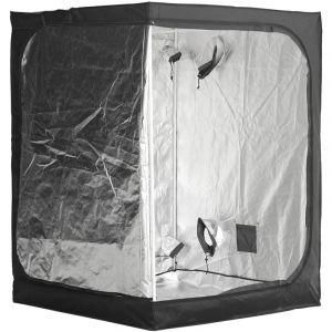 Outsunny Chambre de Culture hydroponique Tente de Culture Grow Box 1,5L x 1,5l x 2H m Polyester Mylar Noir