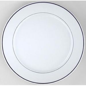 Pillivuyt Assiette plate ronde blanche 28cm en porcelaine Sancerre