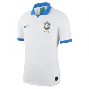 Nike Maillot Away Brasil Vapor Match 2019 pour Homme - Blanc - Couleur Blanc - Taille S