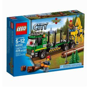 Lego 60059 - City : Le camion forestier