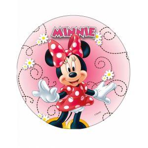 Disque en azyme Minnie 20 cm