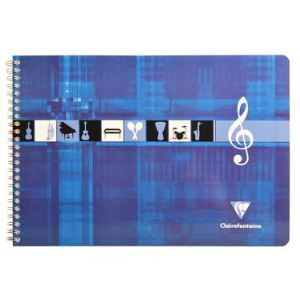 Clairefontaine Metric (8104C) - Cahier de musique à l'italienne 29.7x21cm 50 pages