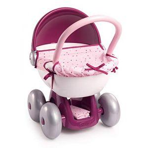 Smoby Poussette pour poupée Baby Nurse rose rose/rose vif