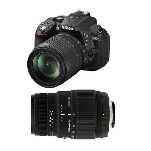 Nikon D5300 (avec 2 objectifs 18-105mm et Sigma 70-300mm)