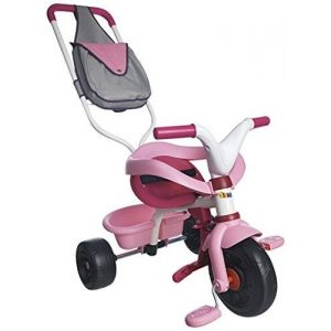 Smoby 444236 - Tricycle Be Fun Confort Fille