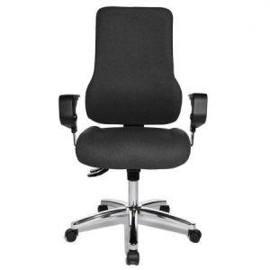 Topstar SD69X T20 - Siège de bureau Sitness 55, avec accoudoirs réglables, revêtement tissu, coloris noir