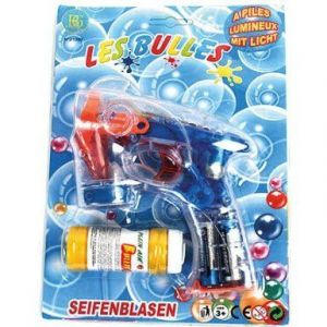 B&G International Pistolet à bulles lumineux