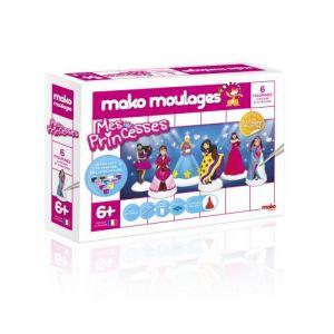 Mako moulages 6 moulages en plâtre : mes Princesses