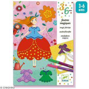 Djeco Feutres magiques Les jolies robes de Marie