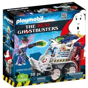Playmobil 9386 - Ghostbusters : Spengler et Voiturette