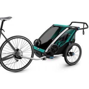 Thule Chariot Lite2 - Remorque vélo - vert/noir Remorques pour enfant