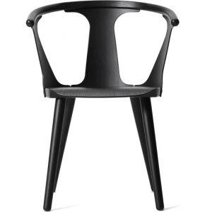 &tradition Chaise In Between / Frêne frêne teinté noir en bois