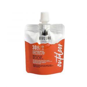 Bivouak Soin Solaire Hydratant - Filtres Minéraux - Gamme Outdoor - SPF 30