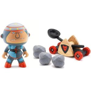 Djeco Figurine Arty Toys - Les chevaliers : Baldy et Big paf