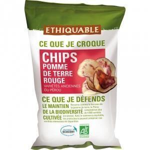 Ethiquable Chips Pomme de Terre Rouge bio & équitable