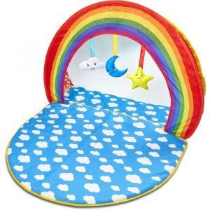 Worlds Apart Tapis d'éveil et piscine à balles deux-en-un pour bébé