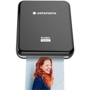 AgfaPhoto Imprimante photo portable Realipix Square P Noire