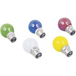 Orbitec Ampoule jaune B22/220V/15W Ampoules de couleur culot B22