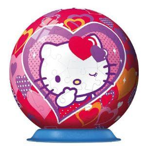 Ravensburger PuzzleBall 3D: Hello Kitty 108 pièces