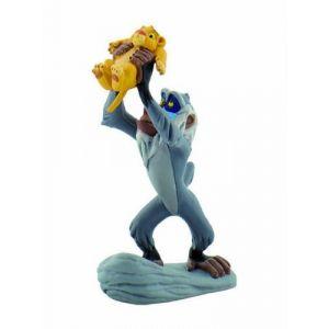Bullyland B12256 - Figurine Rafiki et Simba - Le Roi Lion Disney - 10 cm