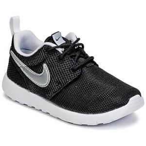 Nike Sportswear ROSHE ONE Baskets basses black/metallic silver/white