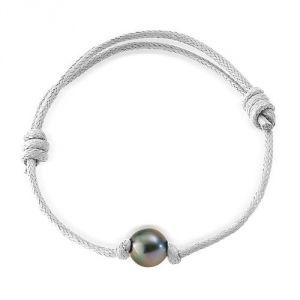 Blue Pearls Bps 0237 W - Bracelet avec perle de Tahiti