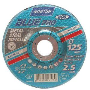 Norton clipper Disque à tronçonner - Blue Pro - métal - 230x3.2 mm - Disque pour meuleuse
