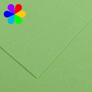 Canson 200040026 - Feuille Iris Vivaldi A4 120g/m², coloris vert pomme 27