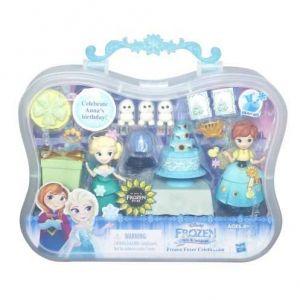 Hasbro La Reine des Neiges : l'anniversaire d'Anna - Mini-poupées instants magiques