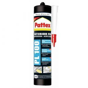 Pattex Colle mastic de fixation acrylique PL100 de