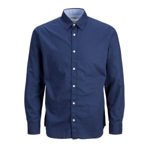 Jack & Jones Plain Poplin L Navy Blazer / Slim Fit - Navy Blazer / Slim Fit - L