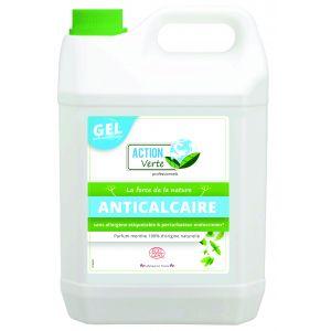 Action Verte Gel nettoyant anti-calcaire - Parfum menthe - 5 litres