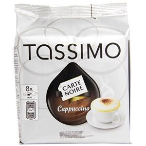 Kraft 8 dosettes T-Discs Carte Noire Cappuccino