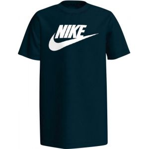 Nike B NSW Tee Futura Icon TD T-Shirt à Manches Courtes Homme, Noir Blanc, FR : M (Taille Fabricant : M)