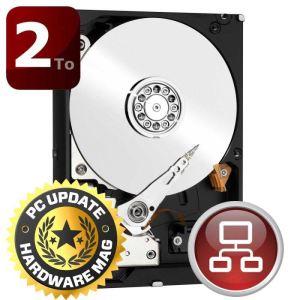 "Western Digital WD20EFRX - Disque dur RED 2 To 3,5"" SATA III IntelliPower"