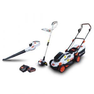 Elem Technic Kit 3 machines rechargeables 20V max Garden