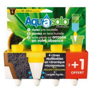 Aquasolo Cône irrigateur cône jaune taille L
