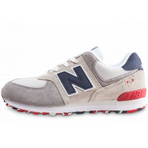 New Balance Baskets basses enfant 574 blanc - Taille 36,37,38,39