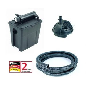 pontec 50238 - Filtre bassin 5000 UVC avec pompe