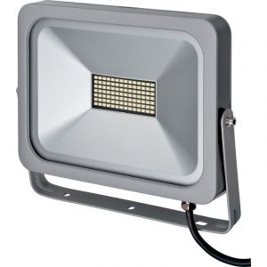 Brennenstuhl 1172900500 Projecteur slim LED, Aluminium,, 50 W, Blanc, 23,5 x 27,7 x 4 cm