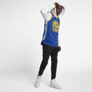 Nike Maillot connecté NBA Stephen Curry Icon Edition Authentic (Golden State Warriors) Homme - Bleu - Taille 52 - Male