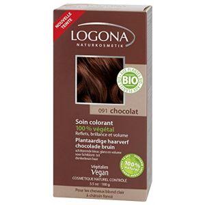 Logona Soin colorant 100% végétal Chocolat 100 g