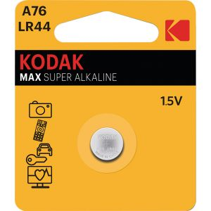 Kodak Pile alcaline - LR44 - Tension 1,5 V