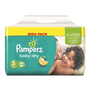 Pampers Baby Dry taille 5 Junior 11-25kg - 108 couches
