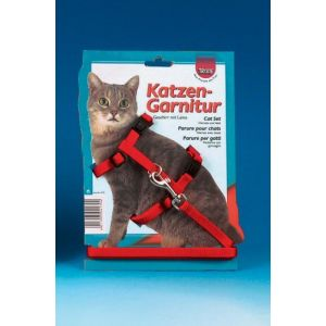 Trixie Harnais en nylon avec laisse pour chats taille M + Laisse d' 1,20 m