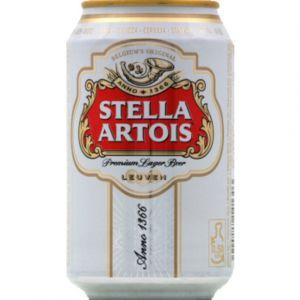Stella Artois Bière - La boîte de 33cl