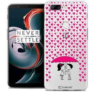 CaseInk Coque OnePlus 5T (6 ) Extra Fine Love Pluie d'Amour