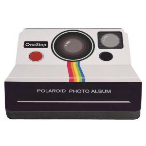 """Polaroid PL2X3SBOSW Album scrapbooking - Look - 12 pages en aggloméré noires (7.25x6.25"""") - Peut contenir des photos 2x3? ou standard 4x6"""""""